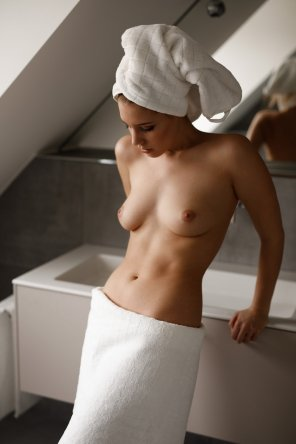 amateur photo White towels