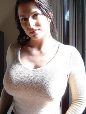 amateur photo Tight shirt