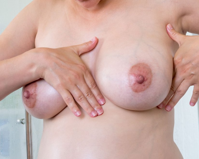 After shower boobies Porn Photo