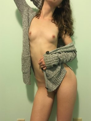 amateur photo I Want You To Rip My Sweater Off And Fuck Me Hard, Up Against The Wall