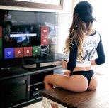 amateur photo Xbox gamer