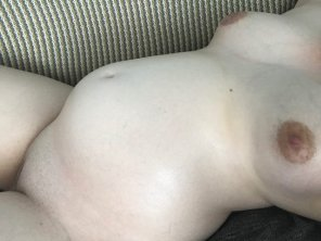 amateur photo Where on my pregnant body would you dump your load?