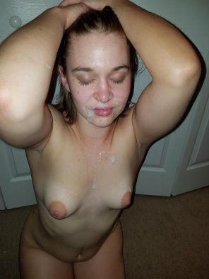 amateur photo She begged for more cum