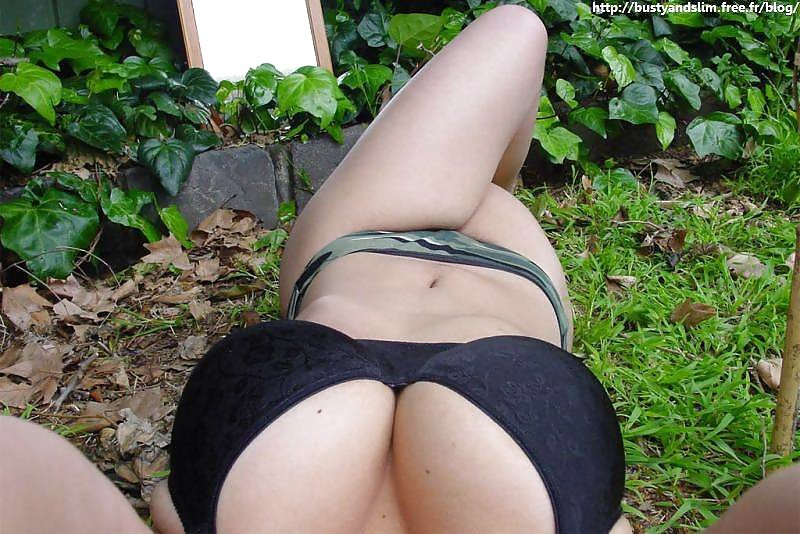 In the garden Porn Photo