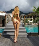 amateur photo By the pool