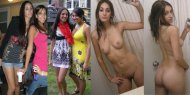 amateur photo Hungarian dark-skinned girl having fun
