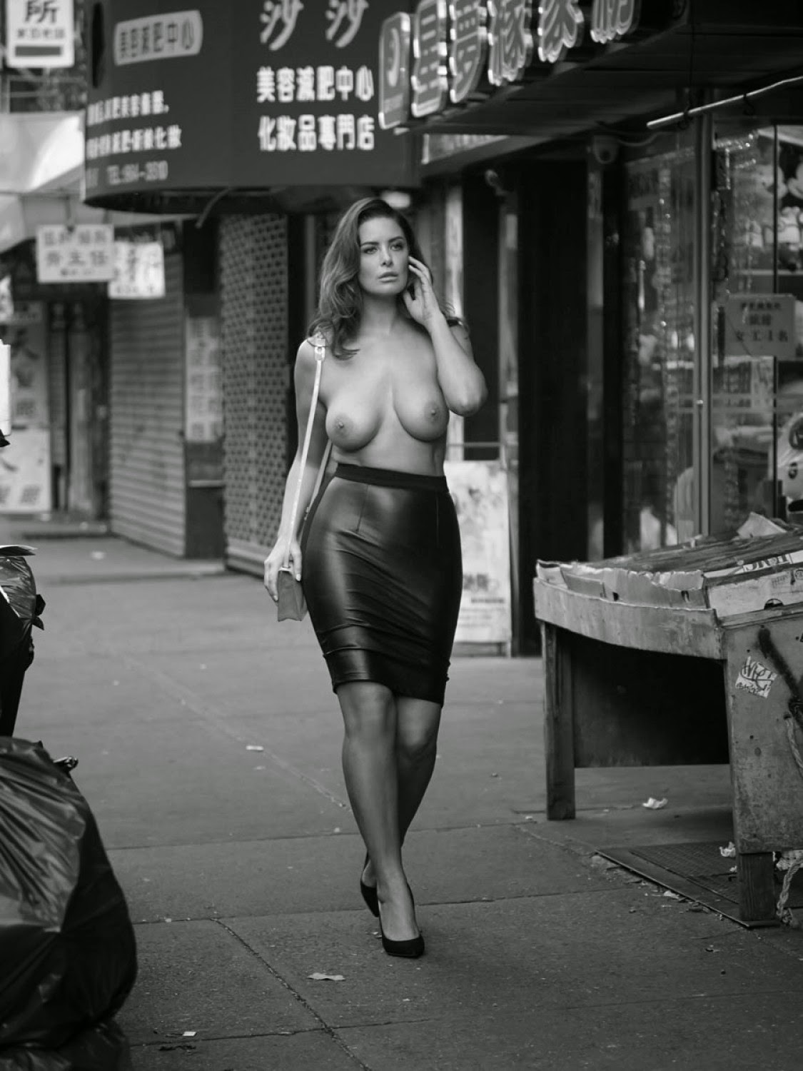 Topless new york