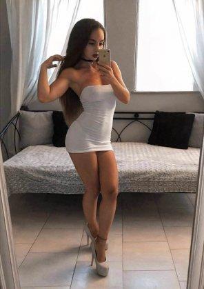 amateur photo Barely a Dress