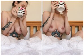 amateur photo Image[image] Tea, tits and tats!