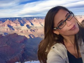 amateur photo Caprice at the Grand Canyon