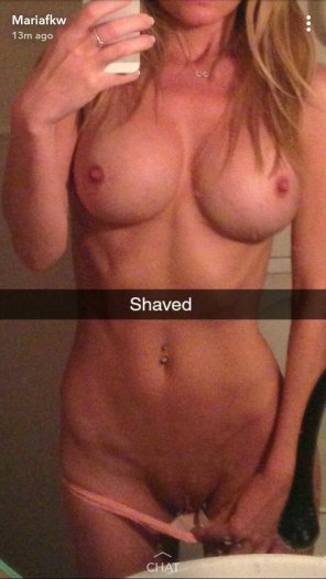 amateur photo Shaved