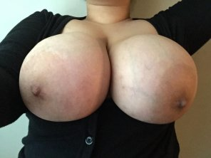 amateur photo Can I share my boobs with you guys?