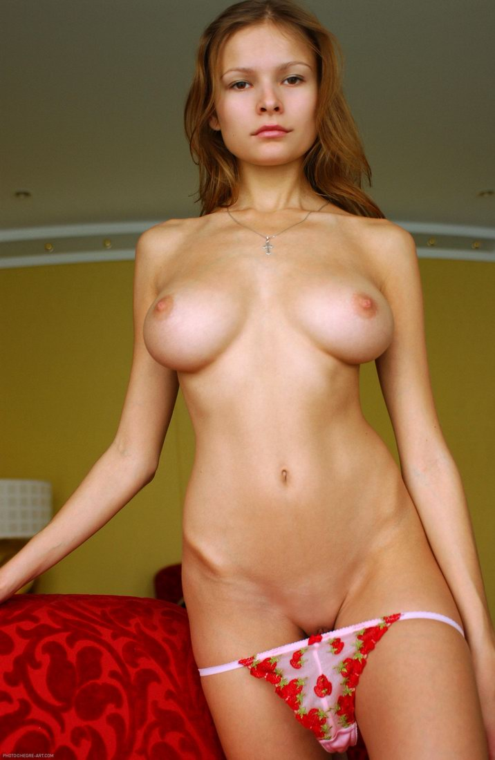 Boobs natural girls hot with