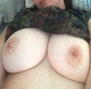 amateur photo Shy wife, anyone else wonder where her hands are?