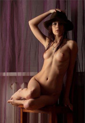 amateur photo Nice hat!