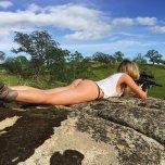 amateur photo Gotta love girls with guns
