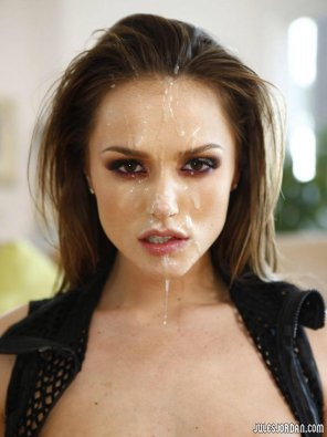 amateur photo Tori Black looking mean