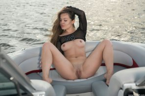 amateur photo 69 on a boat
