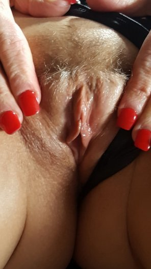 amateur photo It's tight, wet and for your pleasure to jerk on. Do you like my little pussy?