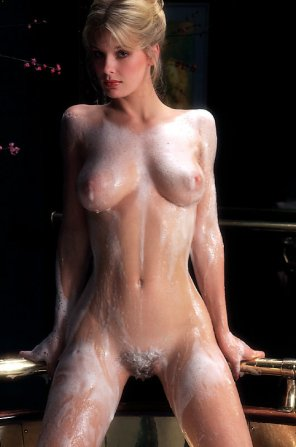 amateur photo All soaped up