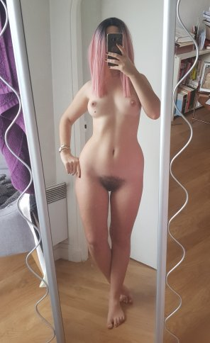 amateur photo Petite and Hairy and I dont care!