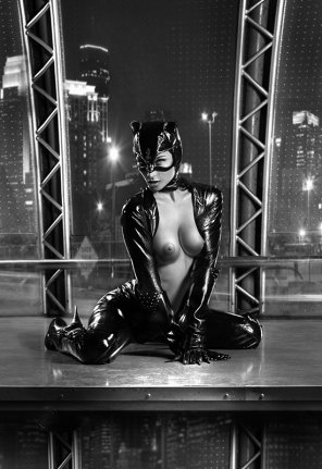 amateur photo Catwoman