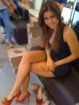 amateur photo Trying on High Heels