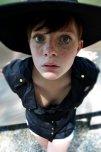 amateur photo Big eyes, speckled face