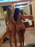 amateur photo Curvy Brazilian Tanlines