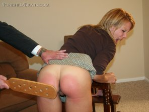amateur photo Spanked
