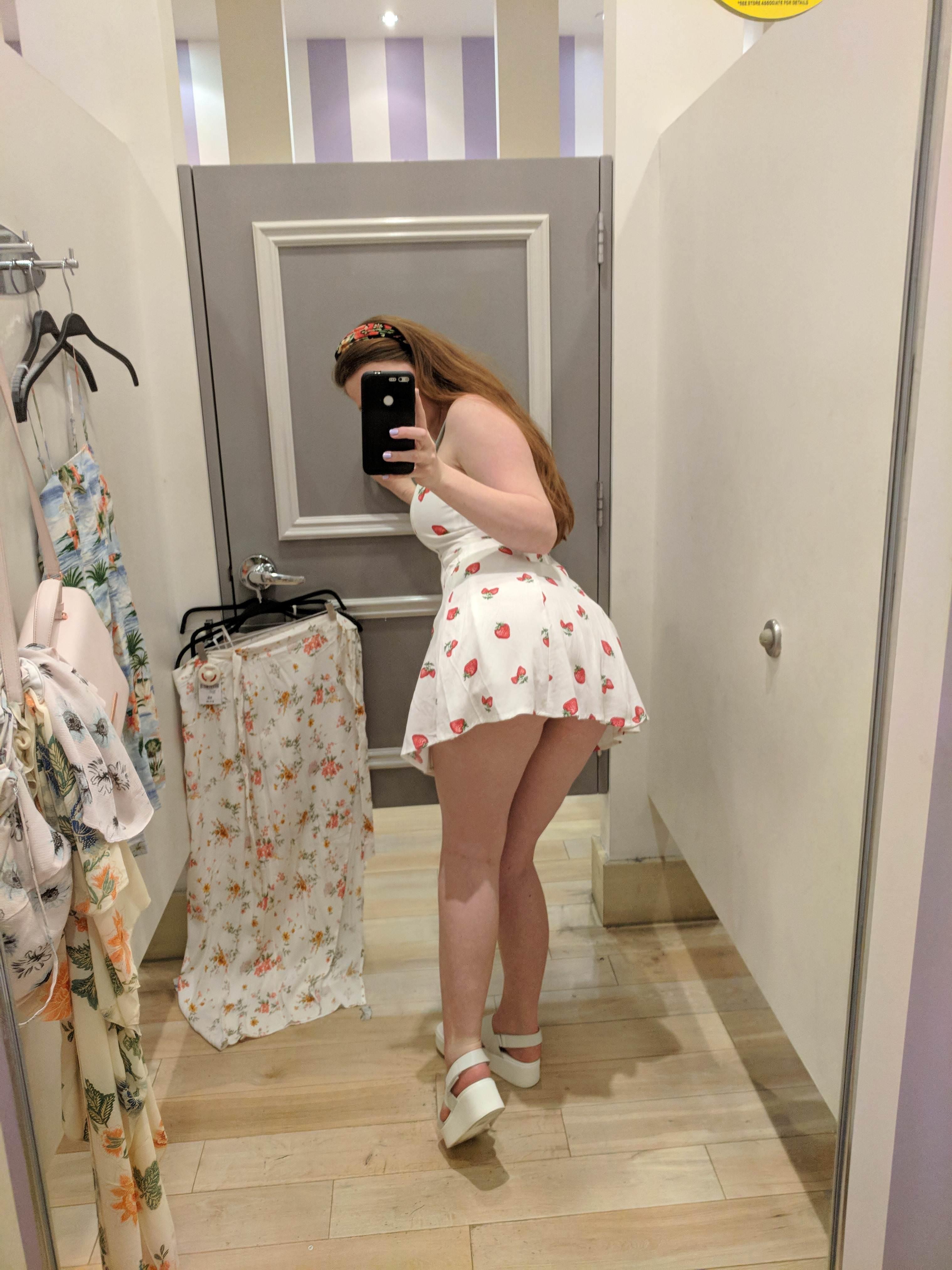 Do You Want A Peek Up My Skirt Porn Photo