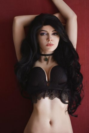 amateur photo Boudoir Yennefer - Witcher - by Evenink_cosplay