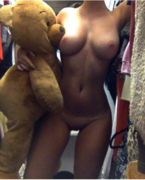amateur photo Me and my bear