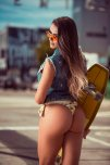 amateur photo Skater girl