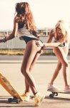 amateur photo Skater girls