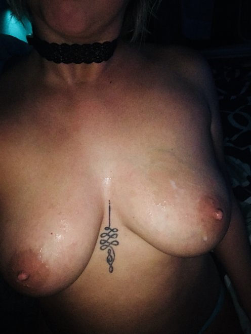 """As he came on my tits, I yelled """"AMERICA!"""" Porn Photo"""
