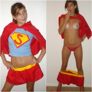 amateur photo Supergirl to the rescue!