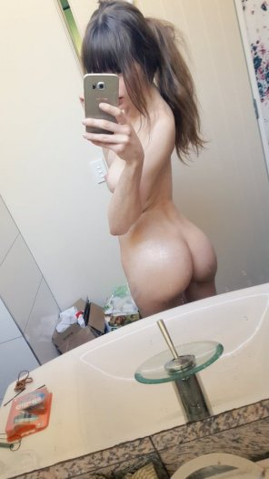 amateur photo Tight Asian Bubble Butt