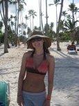 amateur photo Floppy Hat on the Beach