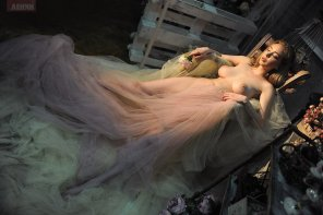 amateur photo Crazy dress
