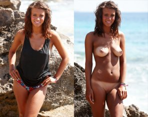 amateur photo Tanlines on an amzing body