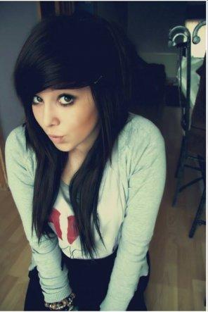 amateur photo Cute Emo Girl