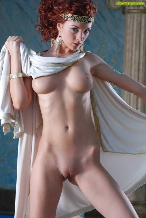amateur photo Stunning redhead princess