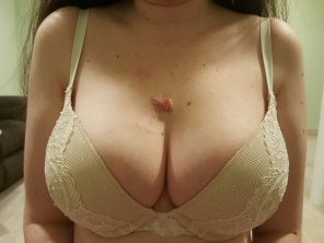 amateur photo New bra, how does it look