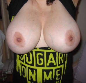 amateur photo Are these tits big enough for this sub?