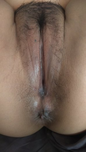amateur photo After taking Daddy's morning cock