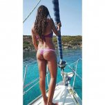 amateur photo Cool boat accessory.