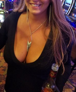 amateur photo Casino, Redds Apple, and cleavage ;)