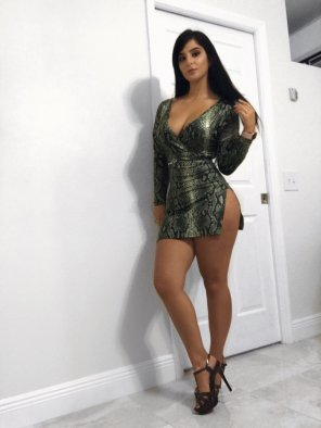 amateur photo Tight Dress