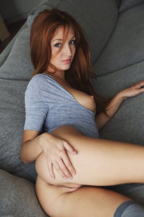 amateur photo Cute little redhead
